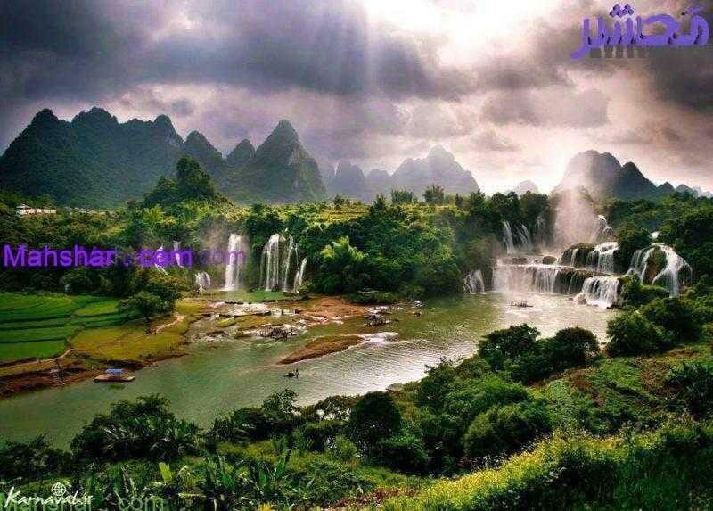 ban gioc detian falls0 1 31 باغ گل معجزه دبی | بزرگترین باغ گل دنیا