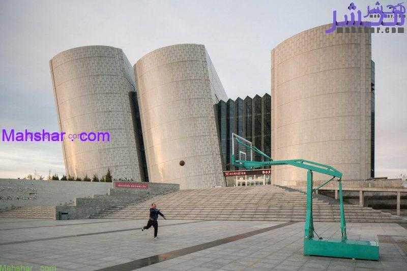 Ordos China Architecture 5114 13 شهر اوردوس، بزرگ ترین شهر مدرن ارواح در دنیا