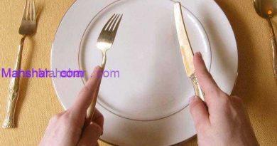 آداب غذا خوردن