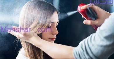 عوارض خطرناک اسپری مو برای سلامتی!