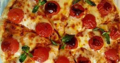 طرز تهیه پیتزا مارگاریتا