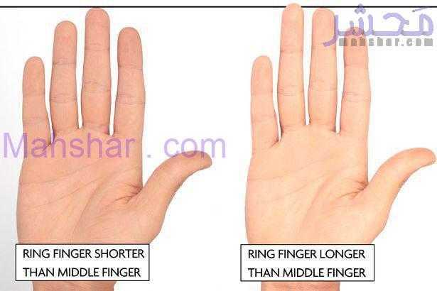 شناسایی مرد عصبی از روی دست و انگشت