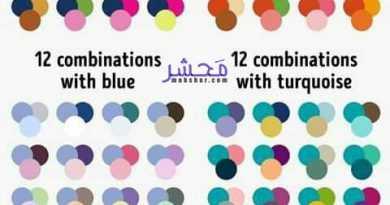 72 پیشنهاد ترکیب رنگ مناسب و بین المللی برای ست کردن لباسا