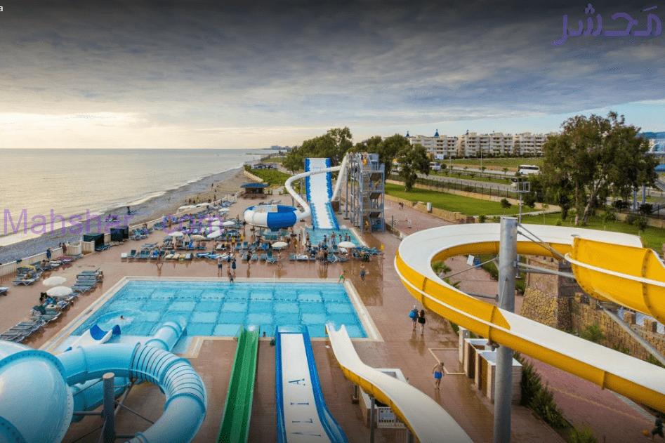 پارک آبی هتل افتالیا اوشن - Eftalia Ocean