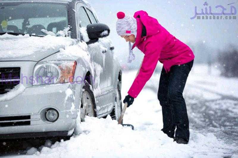 ۸ ترفند ساده نگهداری از خودرو در فصل سرما
