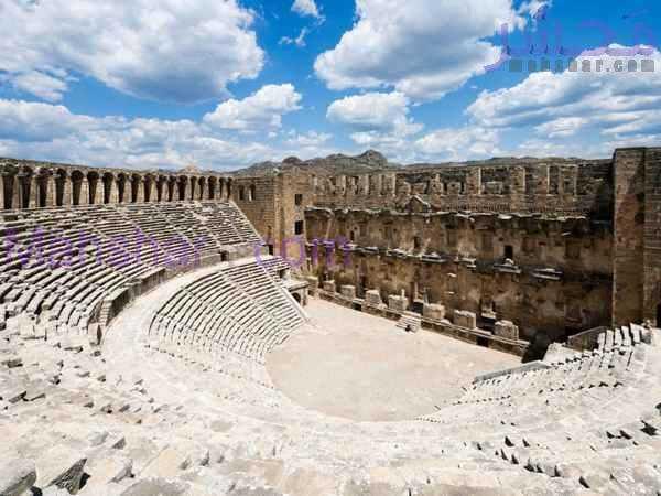 turquoise coast events aspendos theatre xlarge بازدید از آمفی تئاتر، آسپندوس آنتالیا 4 5 سفر یکروزه از آنتالیا