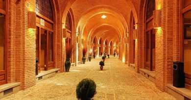 بازار قزوین و سرای سعدالسلطنه