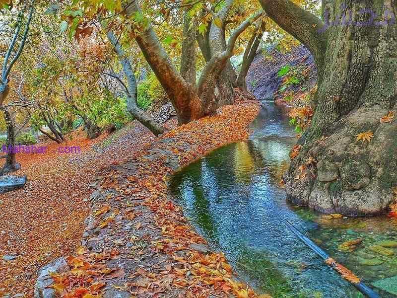 سراب گیان یکی از جاذبه های گردشگری طبیعی در استان همدان