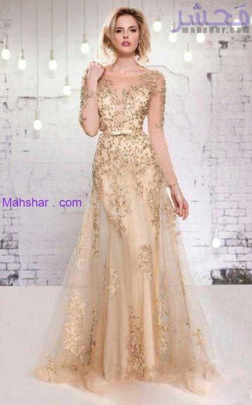 لباس مجلسی زنانه شیک 14 scaled 23 مدل لباس مجلسی زنانه شیک 99   لباس مجلسی گیپور 2020