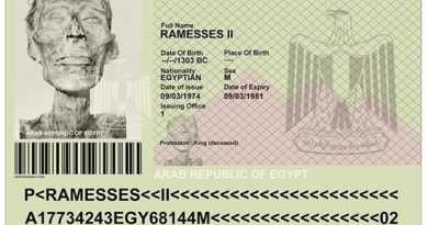 هرکسی، مرده یا زنده، برای سفر به فرانسه باید پاسپورت داشته باشد