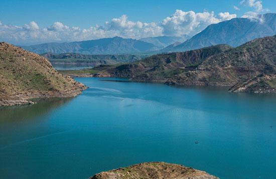 دریاچه سد دربندیخان