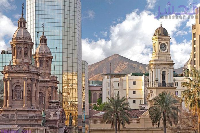 کشور شیلی از ۱۵ کشور خارجی که باید به آنها سفر کرد
