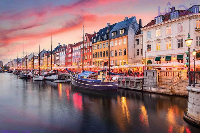 کشور دانمارک از ۱۵ کشور خارجی که باید به آنها سفر کرد
