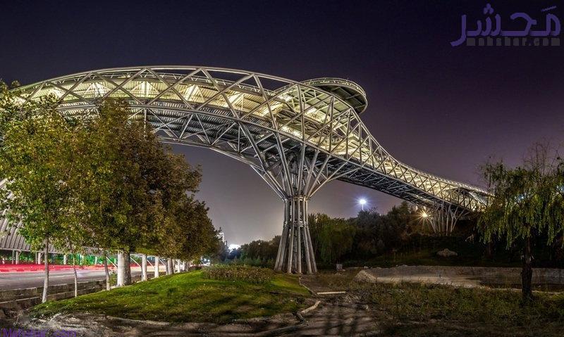 bridge tabiatt دوربین زنده پل طبیعت تهران2 7 دوربین زنده پل طبیعت تهران