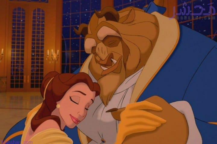 فیلم انیمیشن کارتون دیو و دلبر / Beauty and the beast
