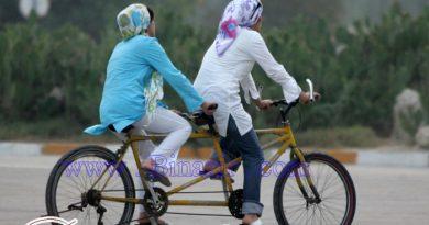 دوچرخه سواری کیش