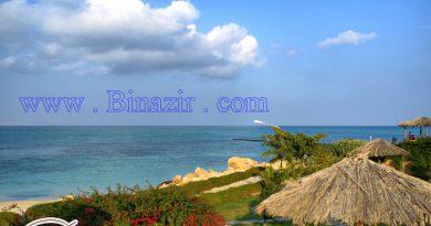 ساحل مرجانی در کیش