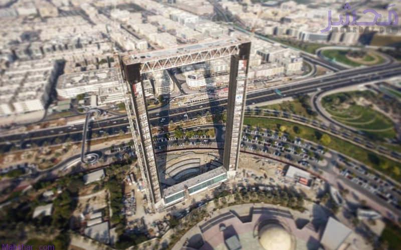 سازه برج قاب دبی و اطلاعات آن